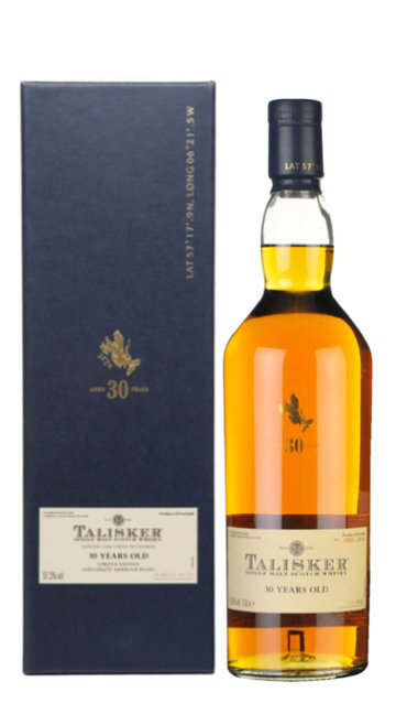 Whisky Single Malt Talisker 30 Anni