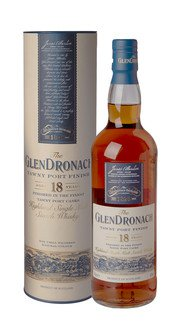 Whisky Single Malt Porto Tawny Finish Glendronach 18 Anni