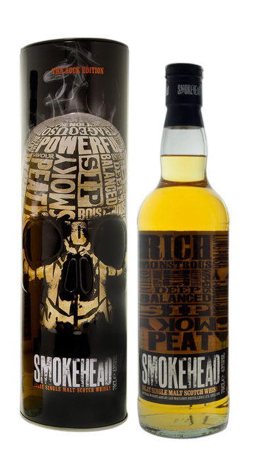 "Whisky Single Malt ""The Rock Edition"" Smokehead"