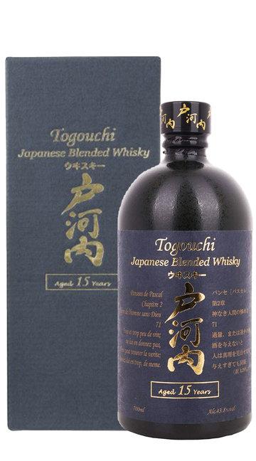 Whisky Blended Togouchi 15 Anni